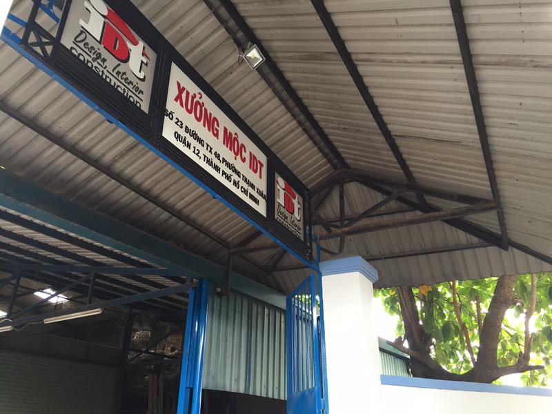 Xưởng sản xuất nội thất công ty IDT