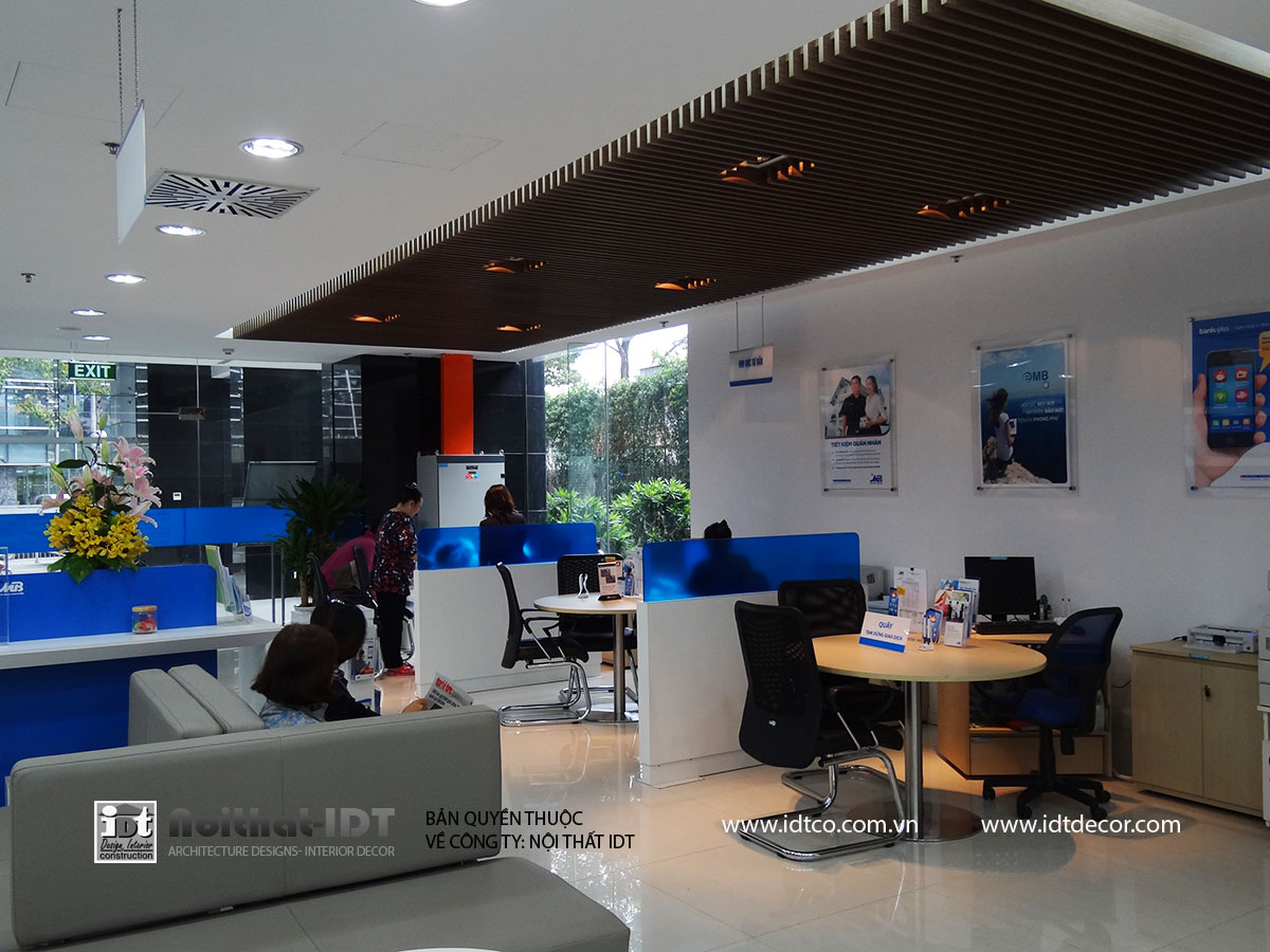 IDT Company with extensive experience in banking design and construction