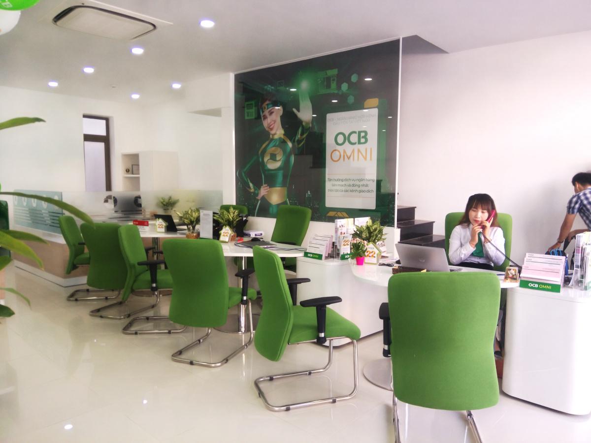 Thiết kế nội thất ngân hàng OCB