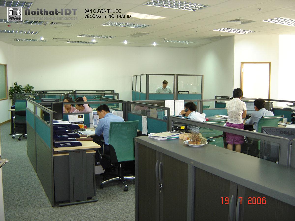 Interior design of SCB bank