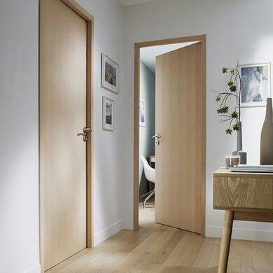 Industrial wooden doors