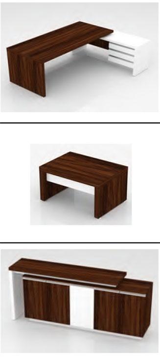 Bộ bàn gồm 3 món theo hình