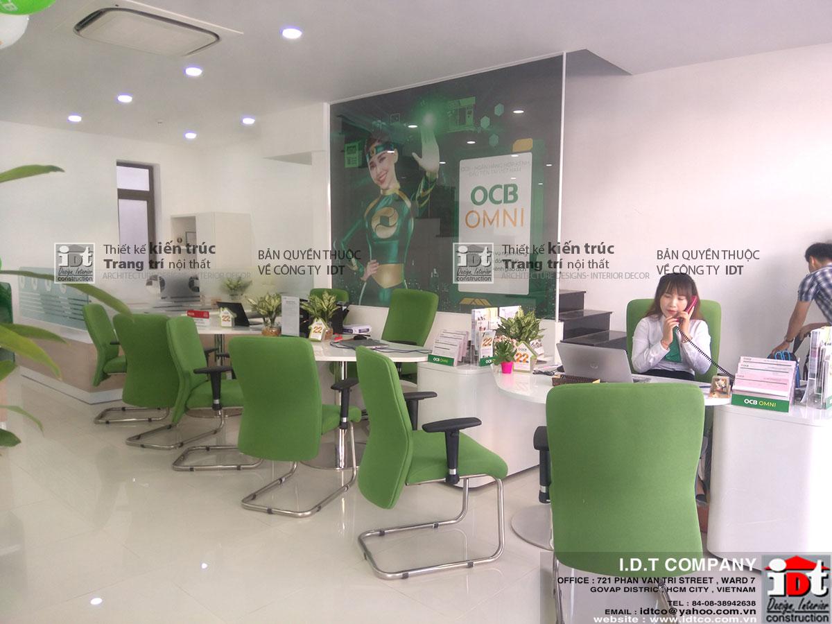Thi công ngân hàng OCB