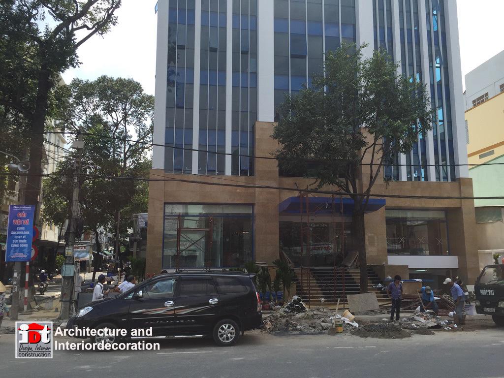 Thi công xây dựng cao ốc văn phòng