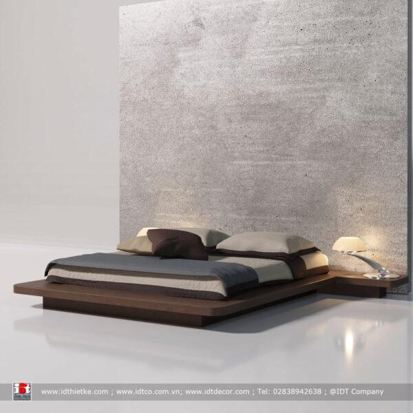 Giường ngủ thiết kế phong cách hiện đại GN2101