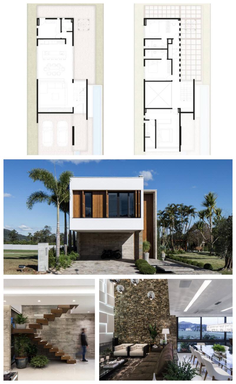 Thiết kế Ngôi nhà hai tầng sang trọng và tiện nghi