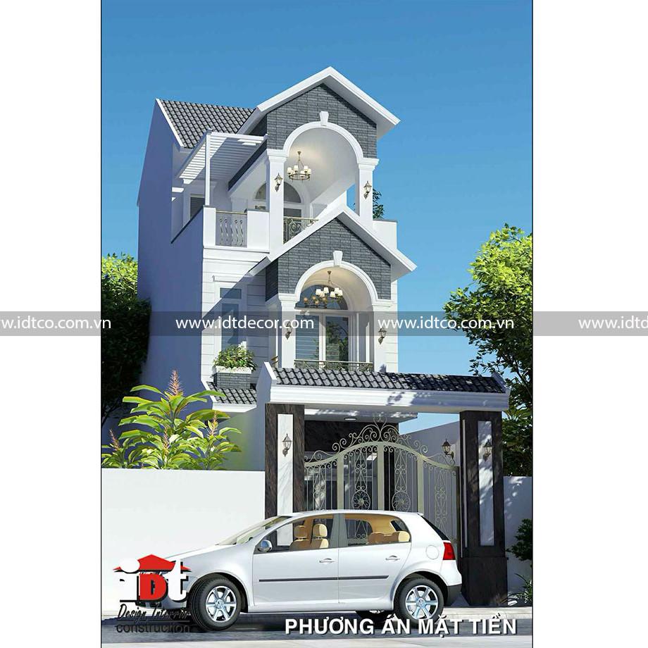Thiết kế biệt thự đẹp tại IDT Architects