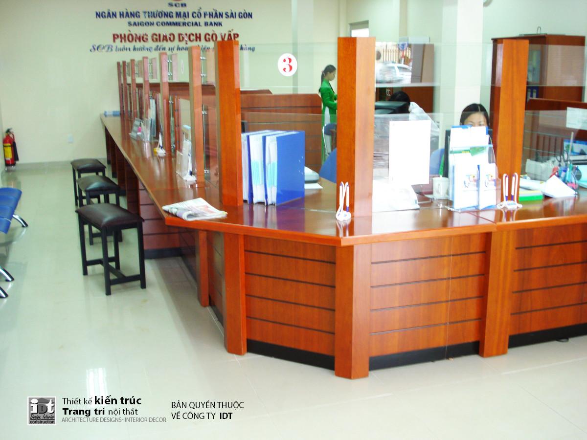High quality interior construction for SCB