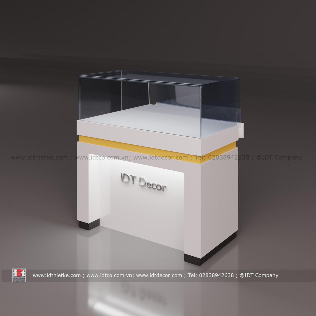 Tủ trưng bày sản phẩm sang trọng cao cấp 09
