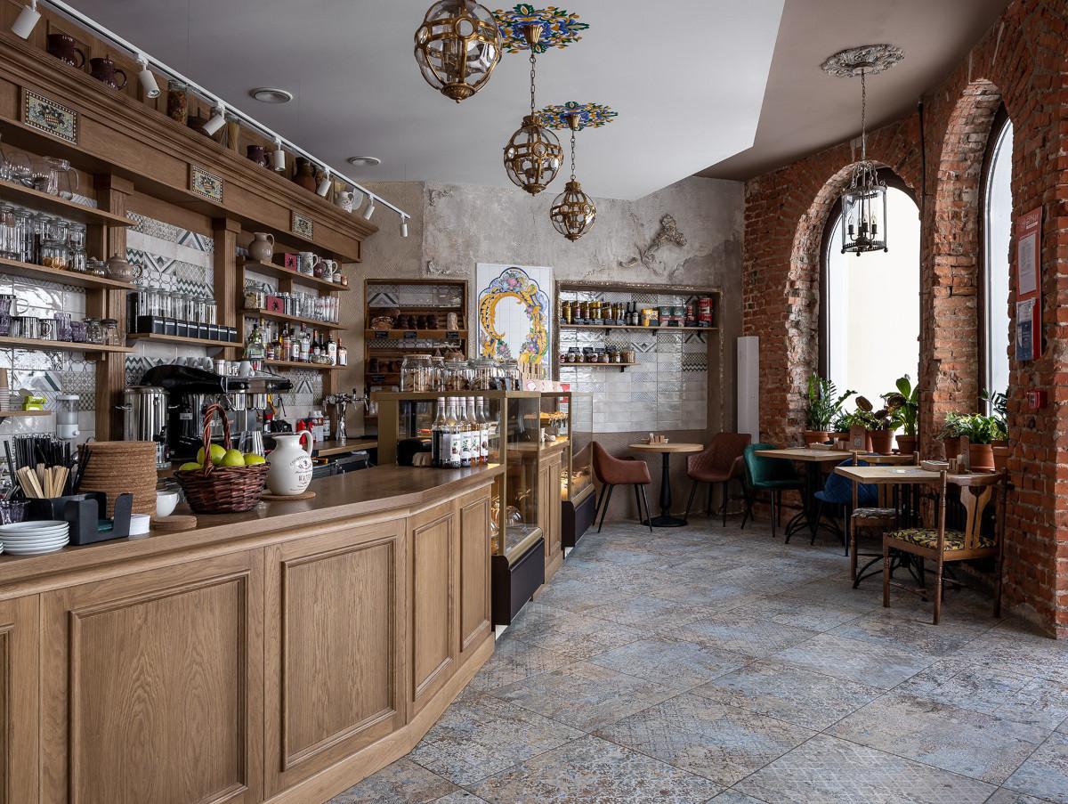 Thiết kế nhà hàng kiểu Ý